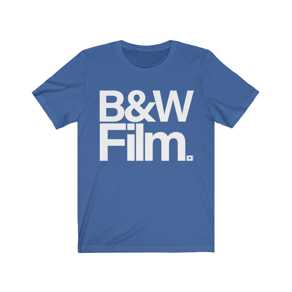 B&W Film Unisex Short Sleeve Tee