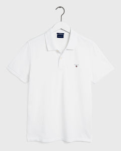 GANT Herr Original Pikétröja Regular Fit White
