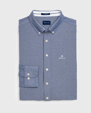 GANT HERR Tech Prep Skjorta Slim Persian Blue