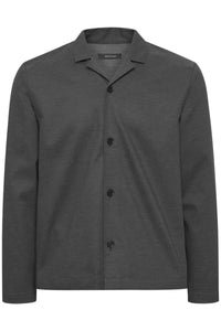 MATINIQUE Jules Resort Overshirt Dark Clean Indigo