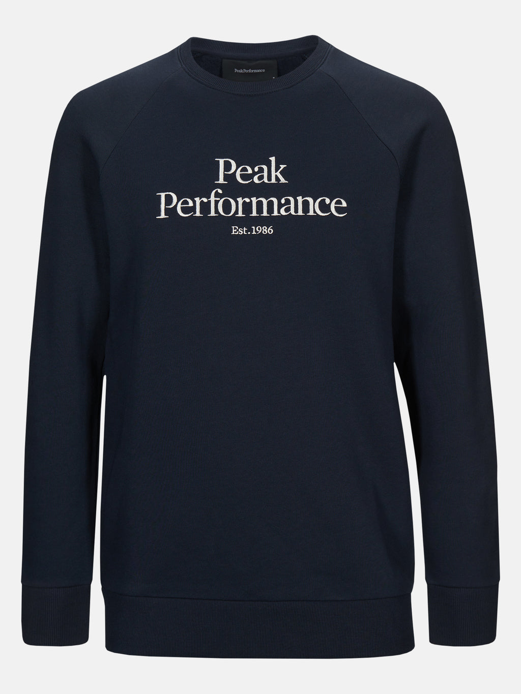 PEAK PERFORMANCE HERR Original Crew Neck Blue Shadow