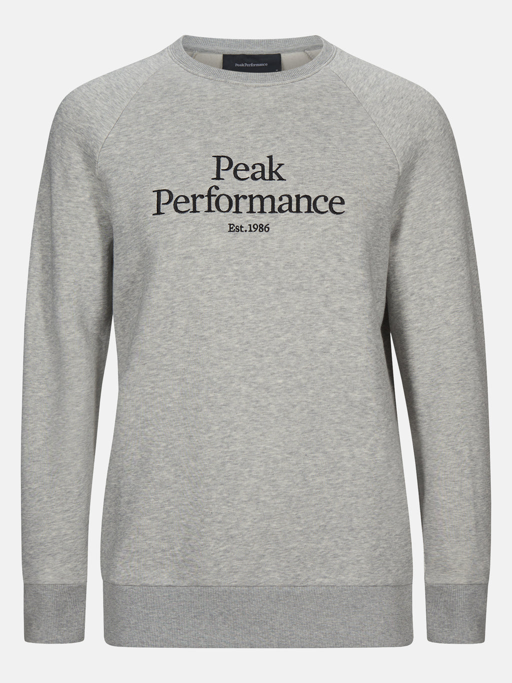 PEAK PERFORMANCE HERR Original Crew Neck Med Grey Melange