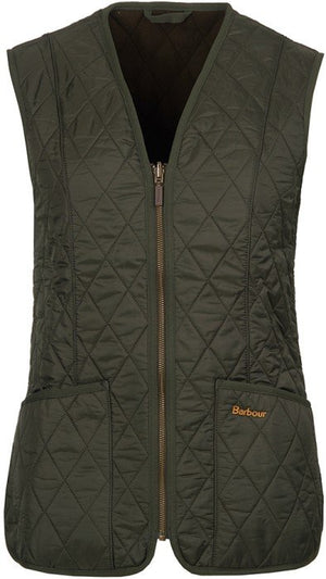 BARBOUR DAM Fleece Betty Liner Green