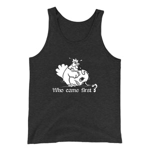 Chicken Or Egg Who Came First Sexual Sex Chicken Or Egg Tank Top