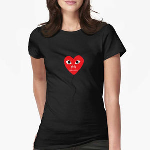 Comme Des Garcons Play Red Heart Women's T-shirt