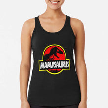 Load image into Gallery viewer, Mamasaurus Rex Mothers Day Gift Funny Racerback Tank