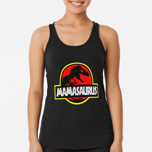 Mamasaurus Rex Mothers Day Gift Funny Racerback Tank