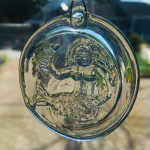 Glass Sun Catcher with Mermaid