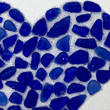 Load image into Gallery viewer, Sea Glass Sparkle Heart