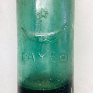 Vintage Codd Bottle with Marble