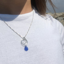 Load image into Gallery viewer, Sea Glass Circles Necklace
