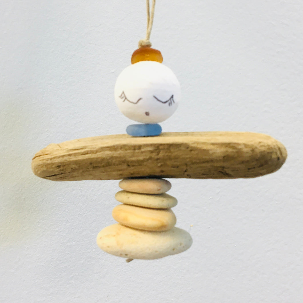 Cairn Angel with Cotton Spun Head