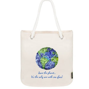 Save the Planet Organic Cotton Tote