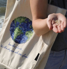 Load image into Gallery viewer, Save the Planet Organic Cotton Tote