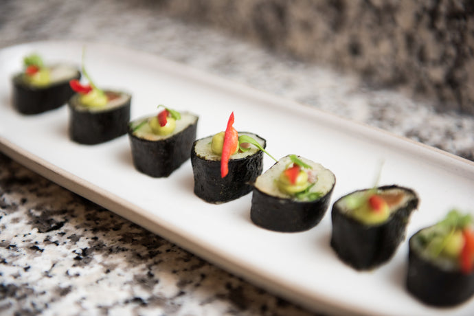 Cucumber Blunder No Rice Sushi by Ruth Hansom