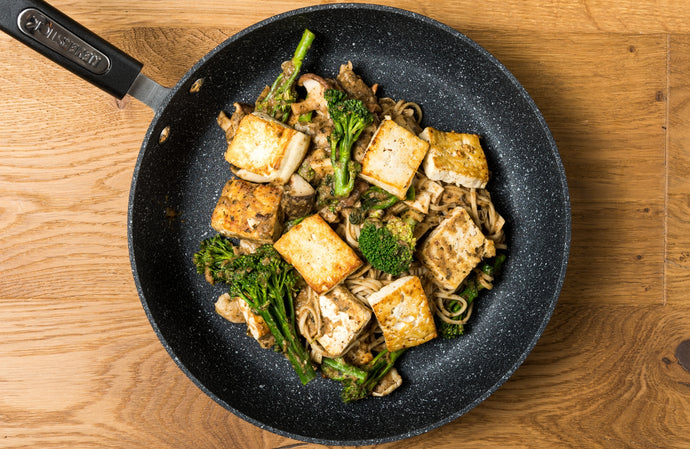 Teriyaki Malarkey Tofu Stir-Fry by Tanya
