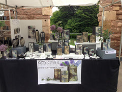 My stall in the Abbey Top, Earth and Fire 2015