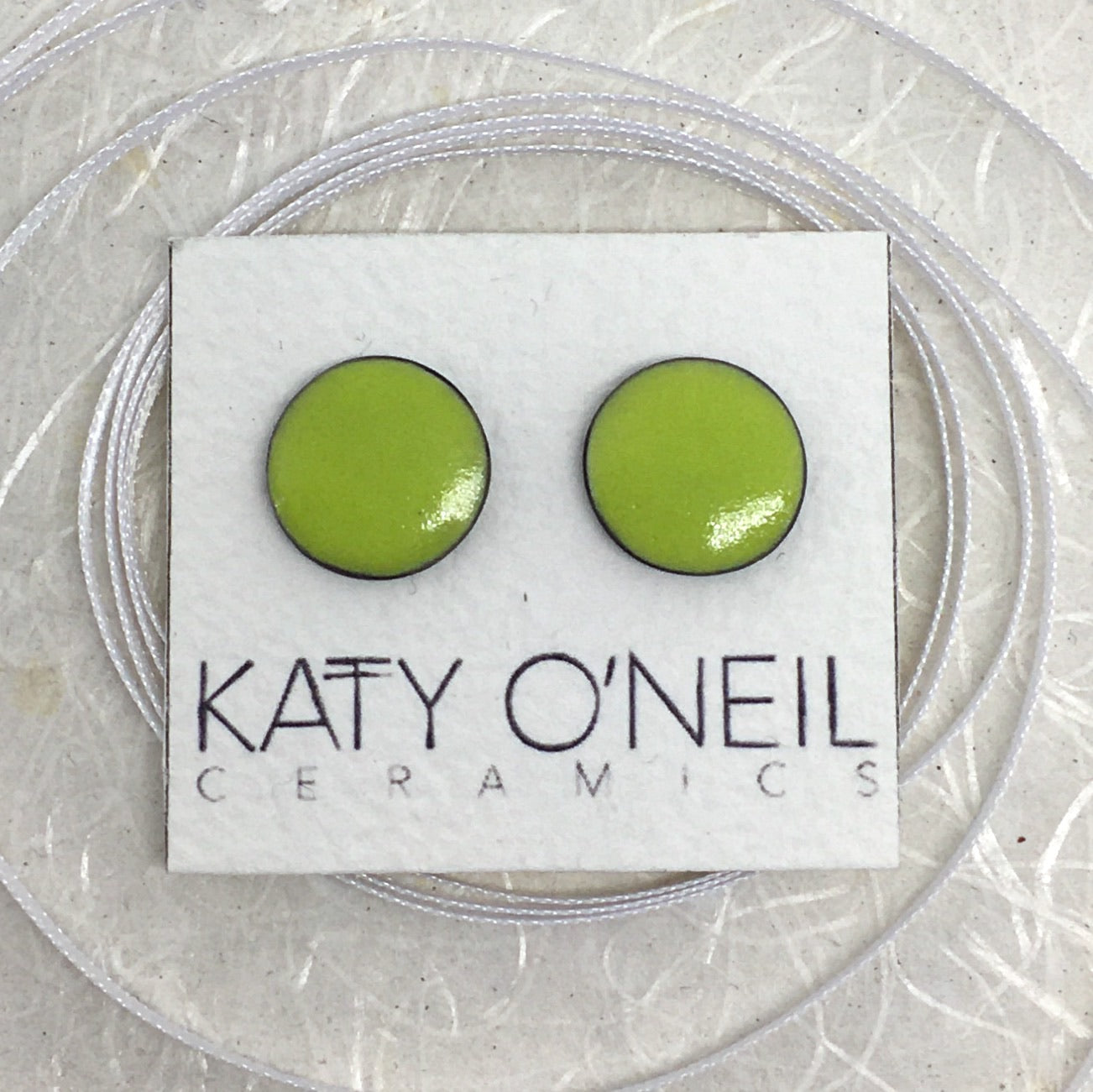 Large Round Earrings 17