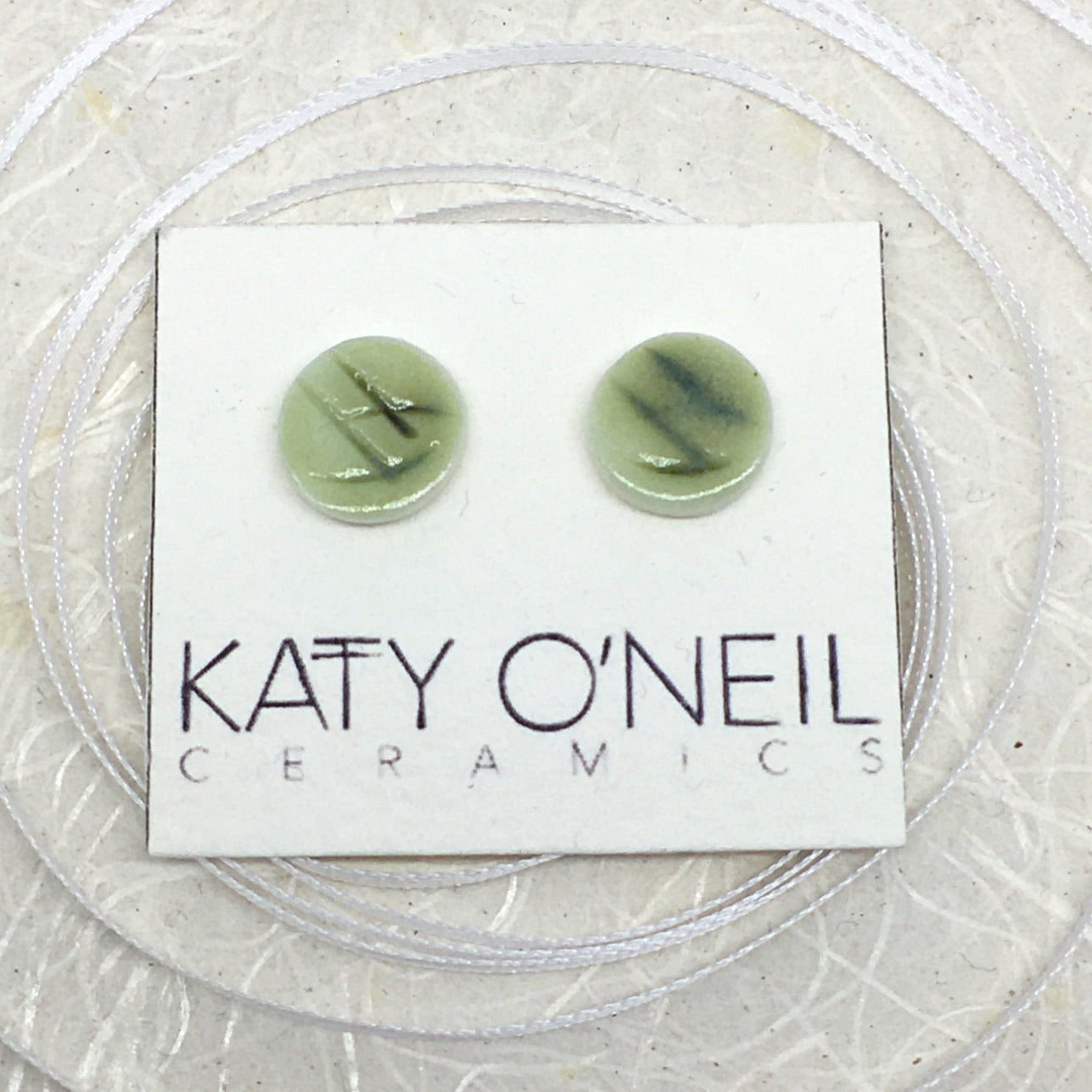 Medium Round Earrings 9