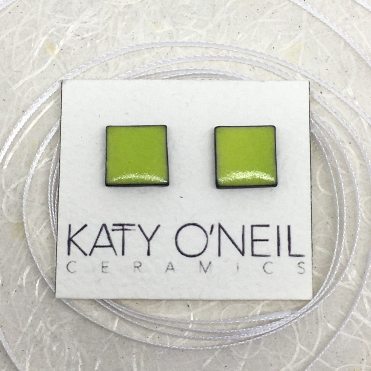 Medium Square Earrings 14