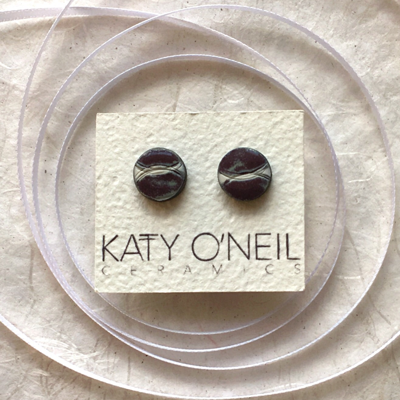 Medium Round Earrings 6