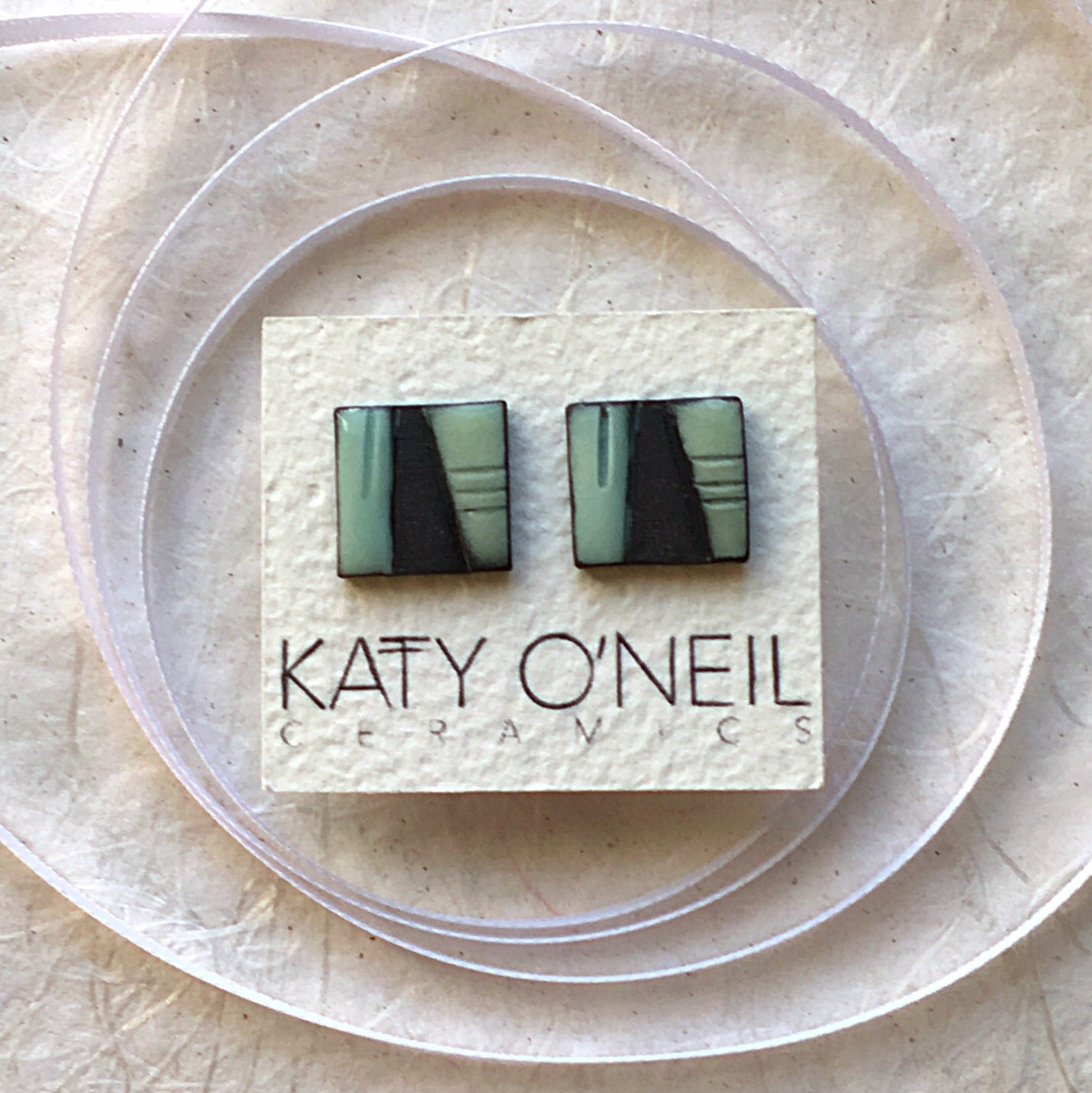 Large Square Earrings 4