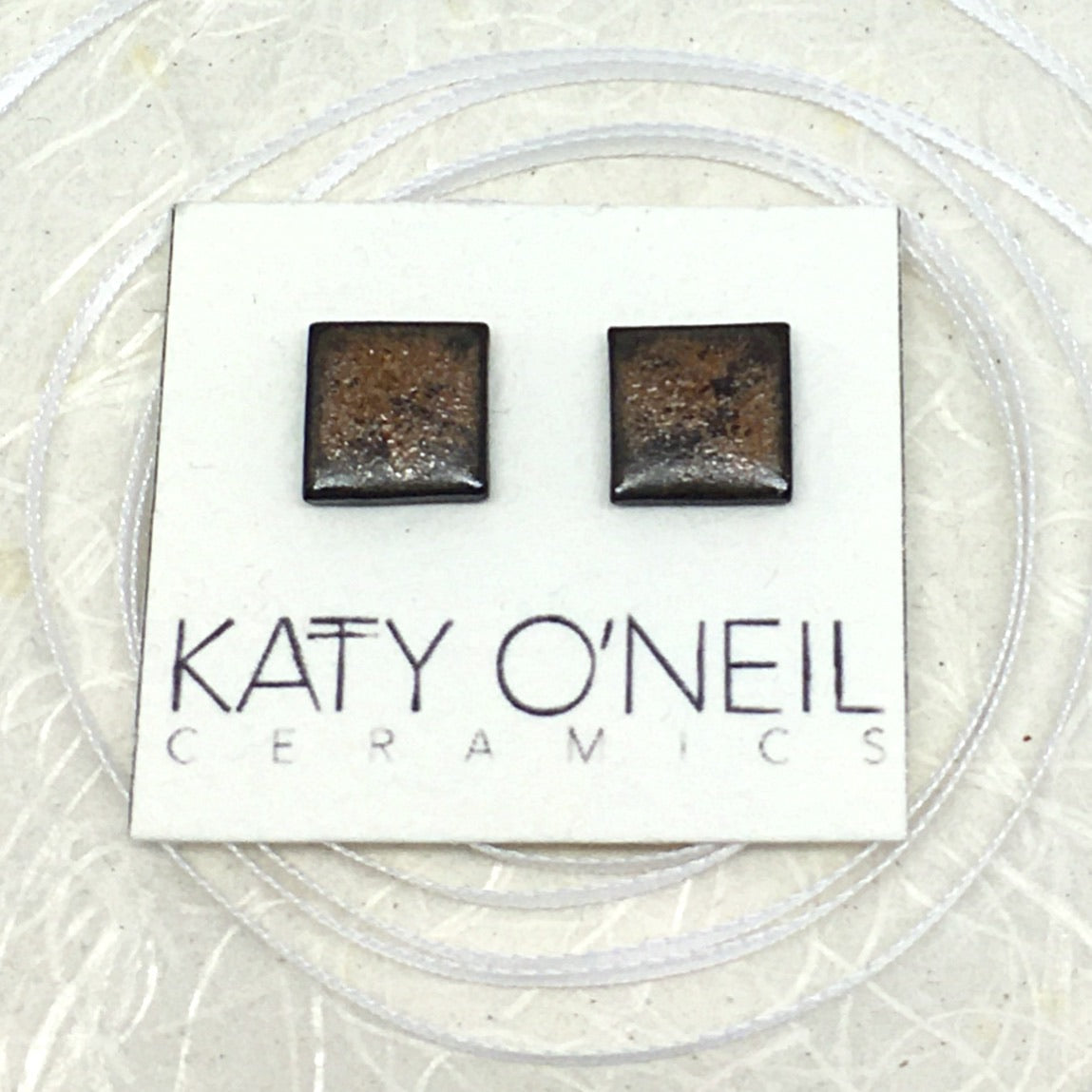 Medium Square Earrings 16