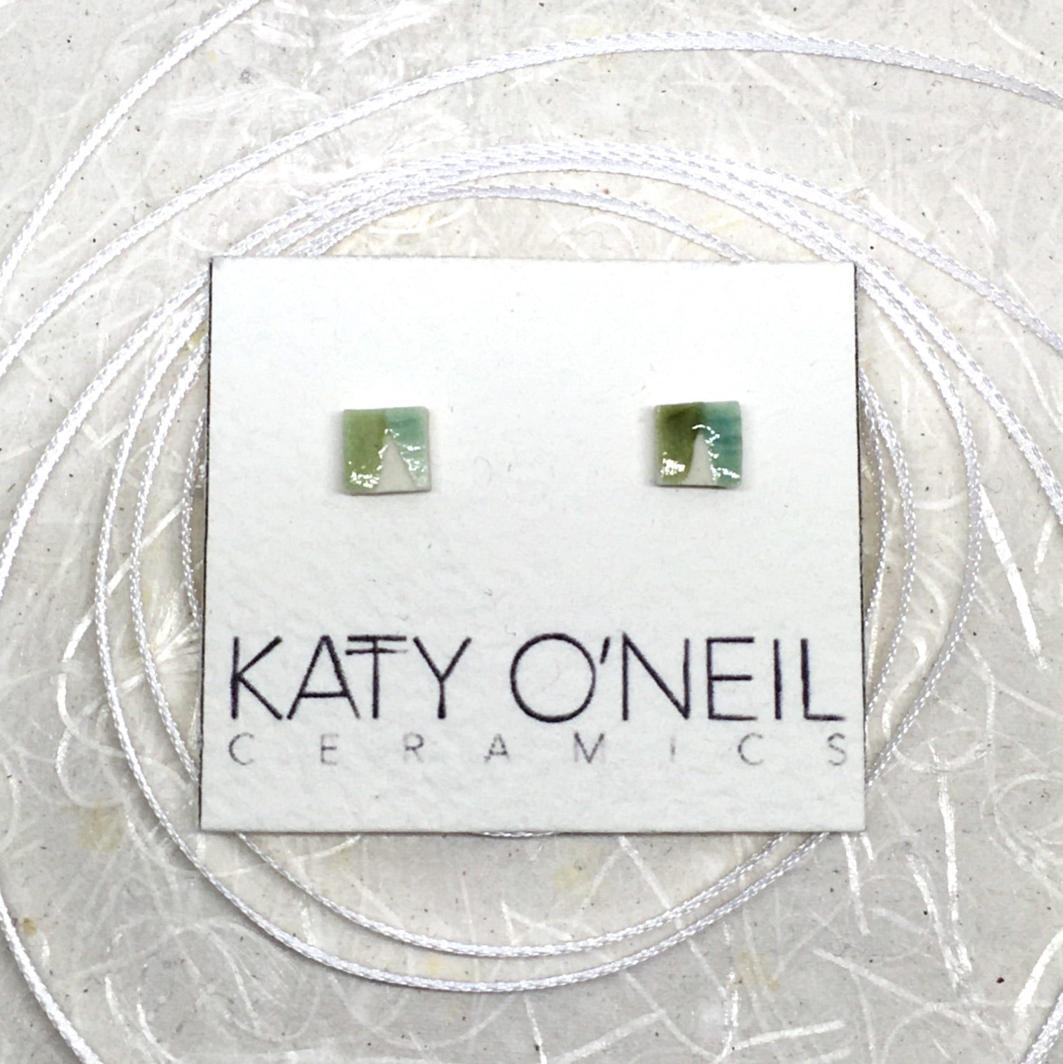 Tiny Square Earrings 35