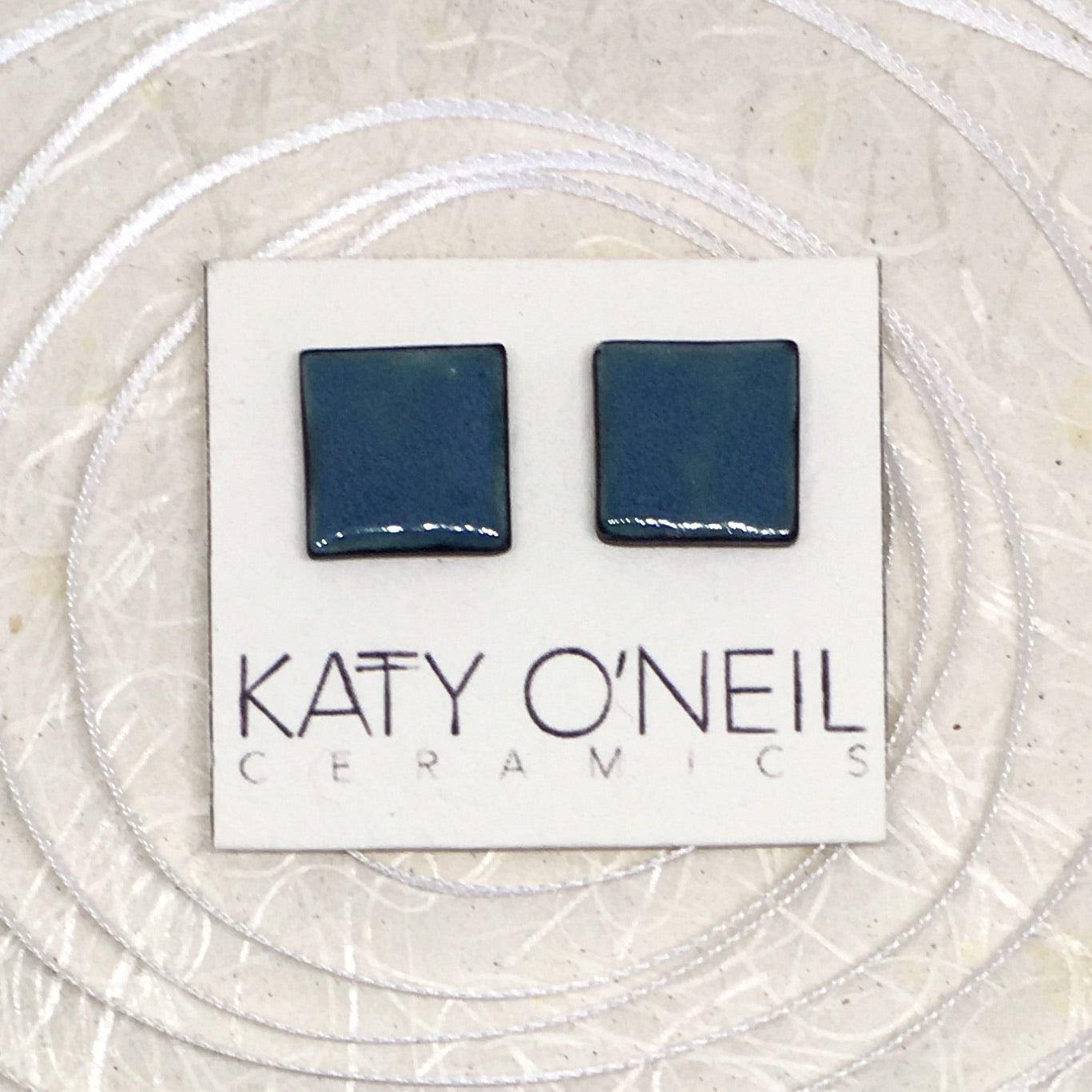 Large Square Earrings 19