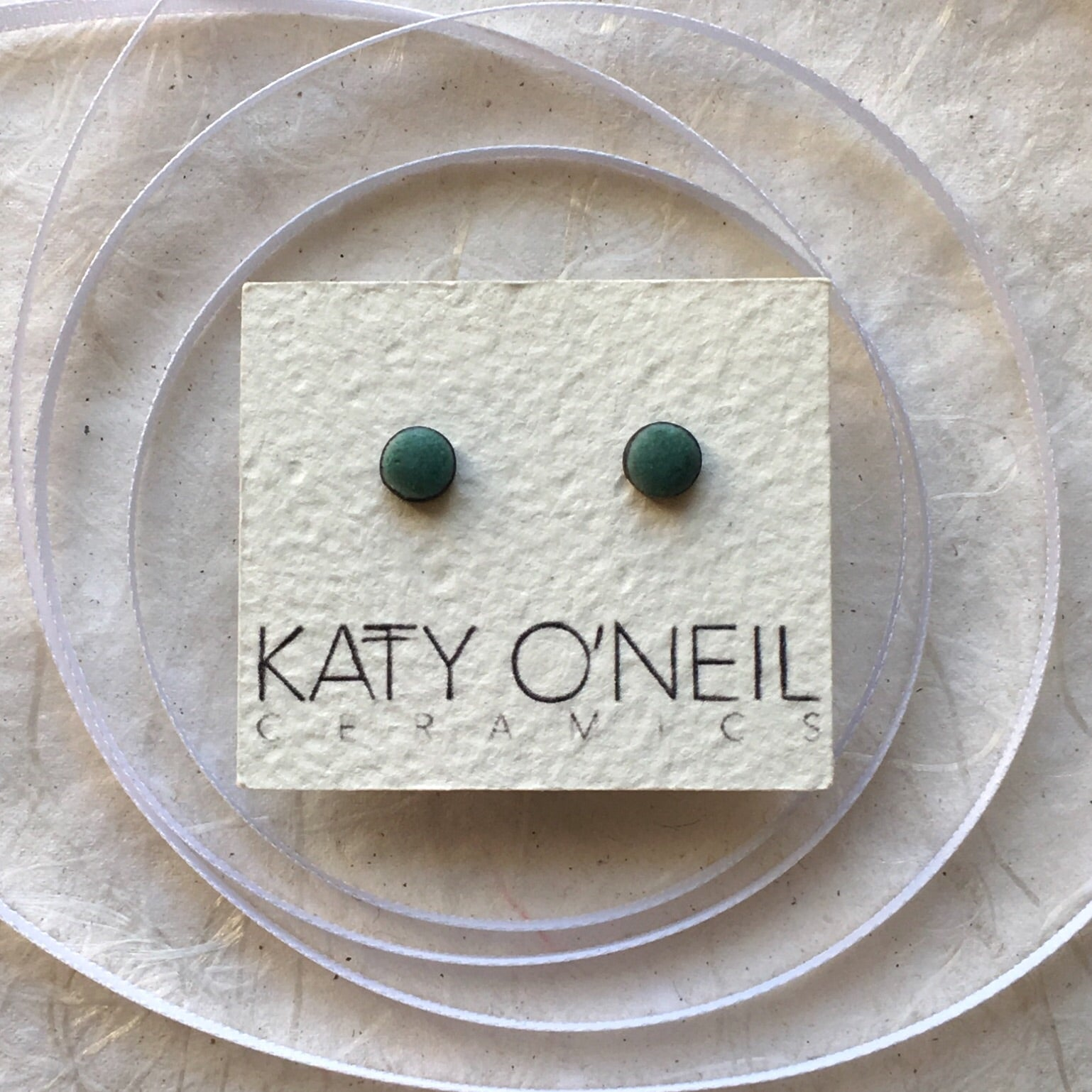 Tiny Round Earrings 8