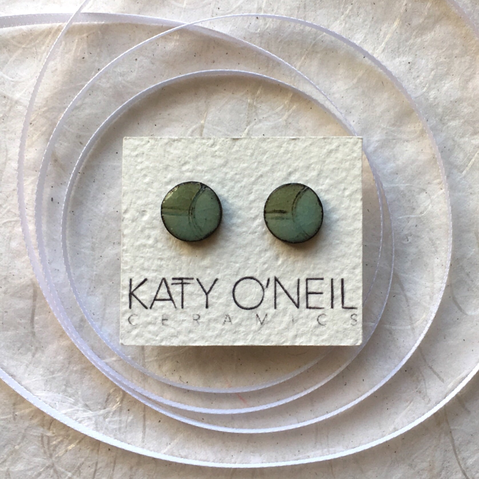 Medium Round Earrings 2