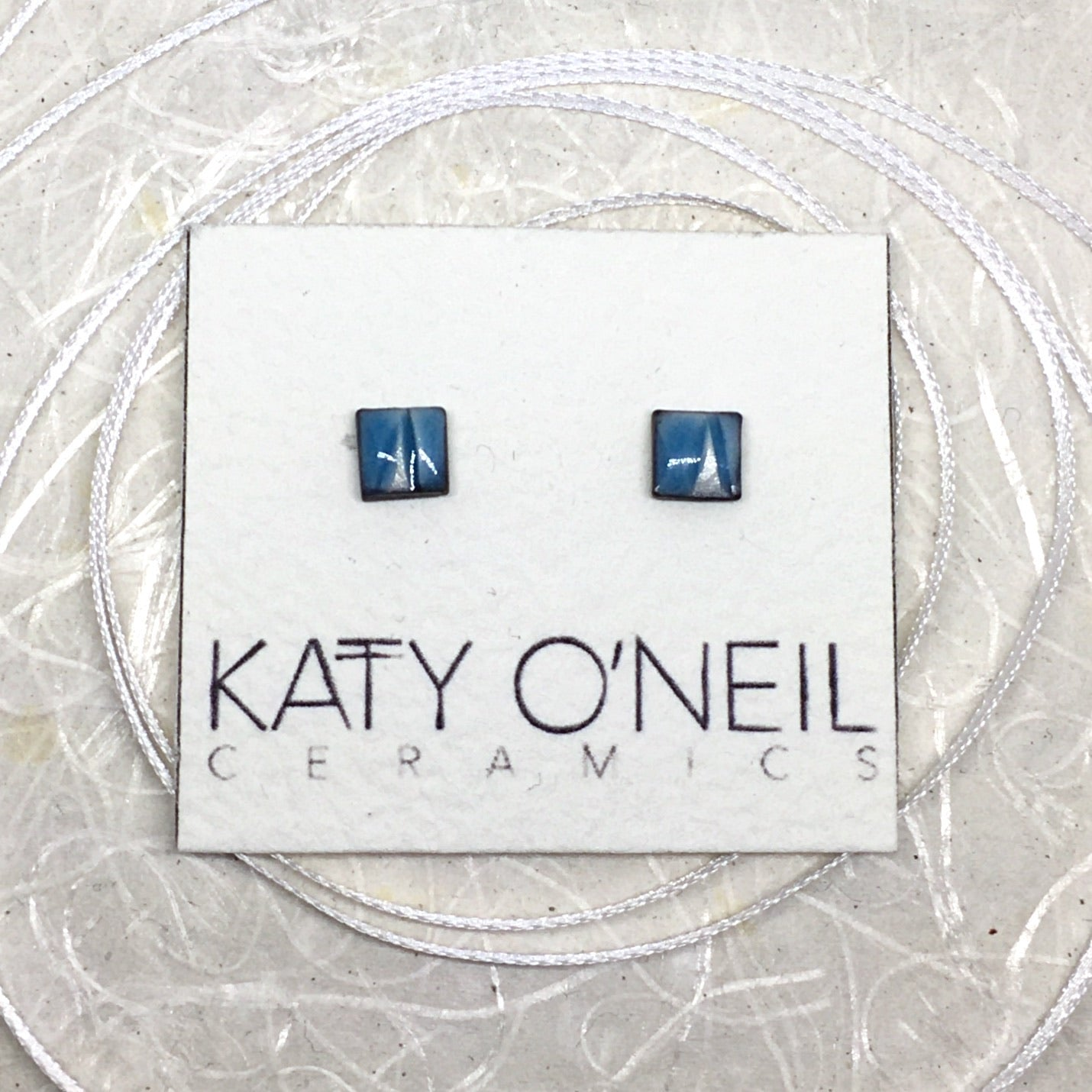 Tiny Square Earrings 41