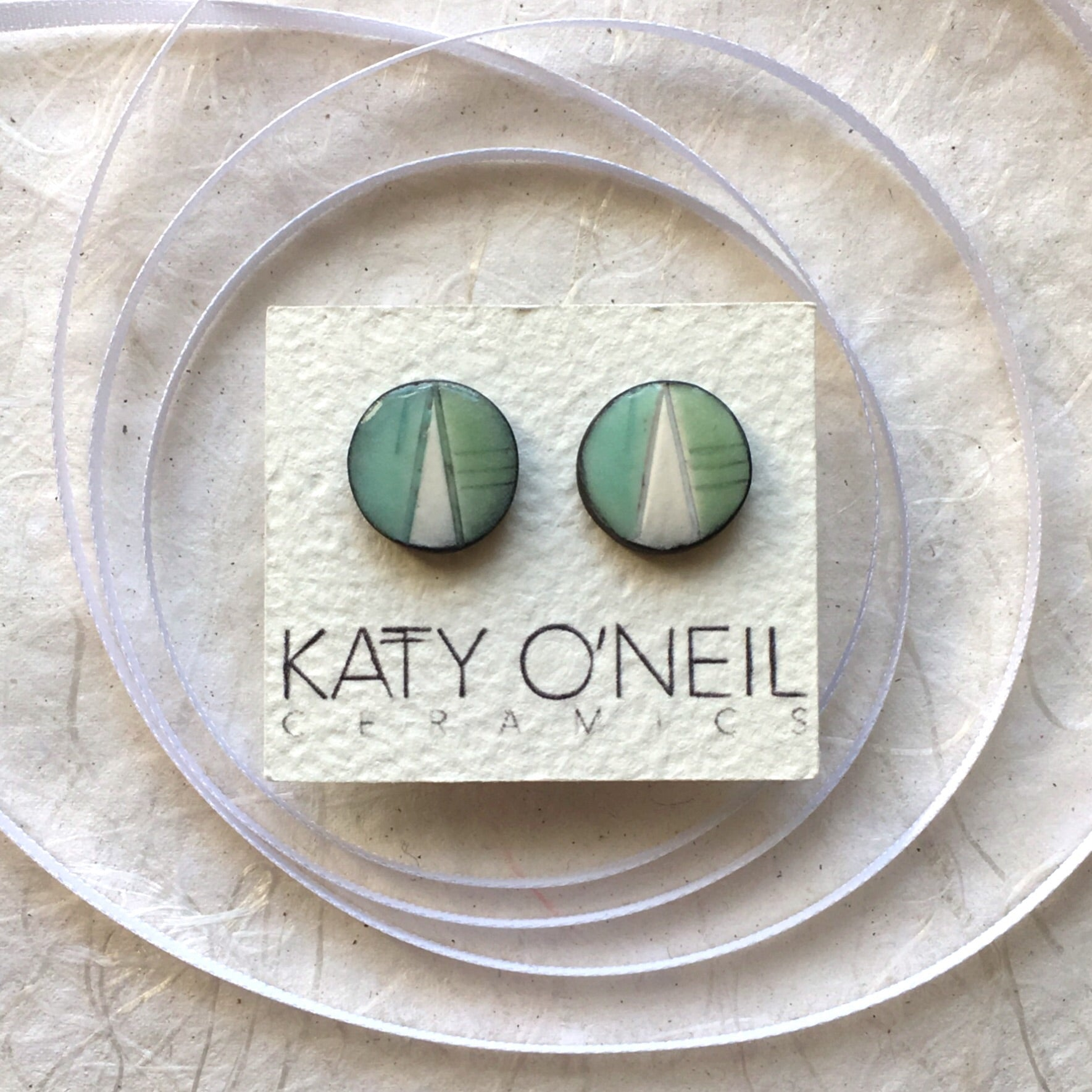Large Round Earrings 3