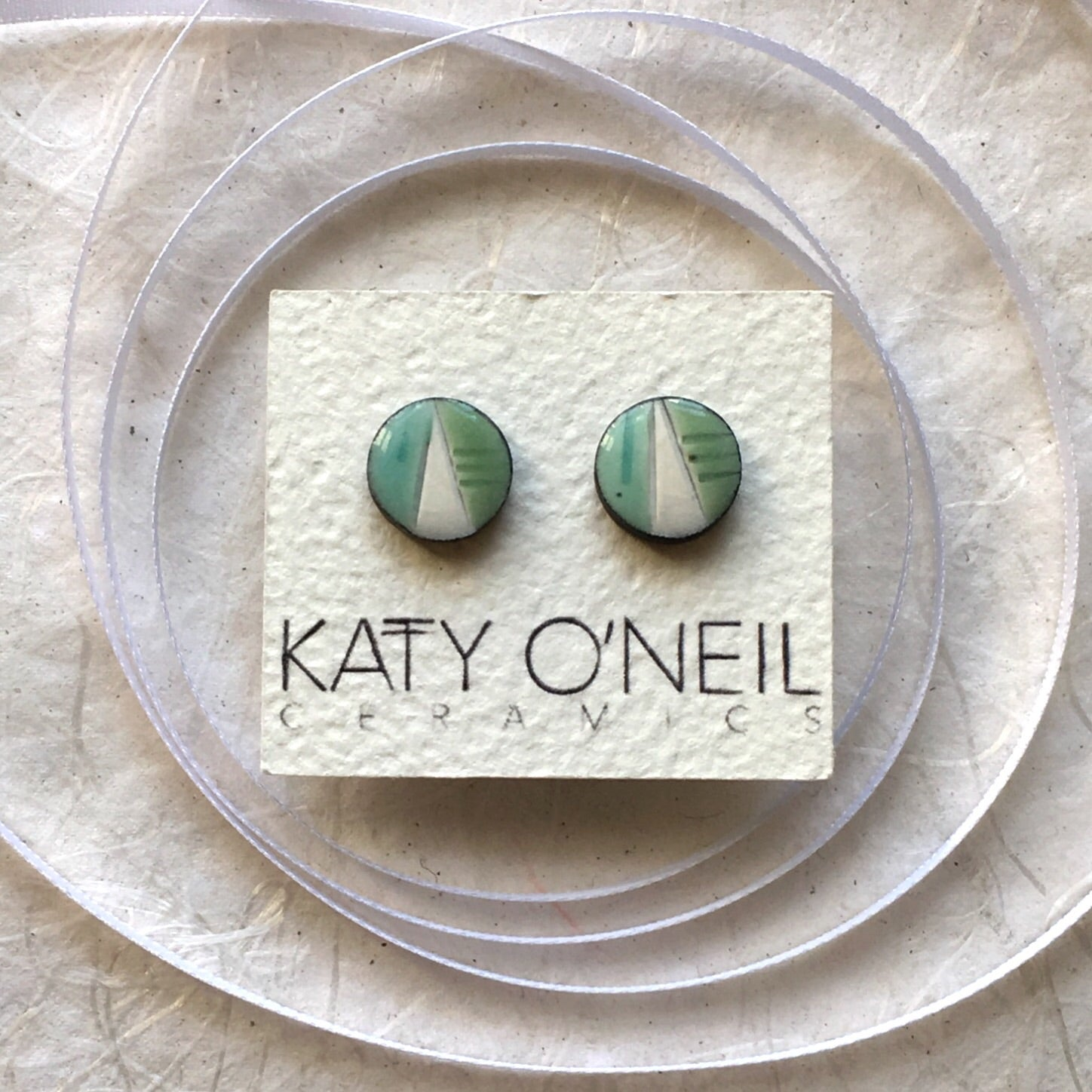 Medium Round Earrings 3