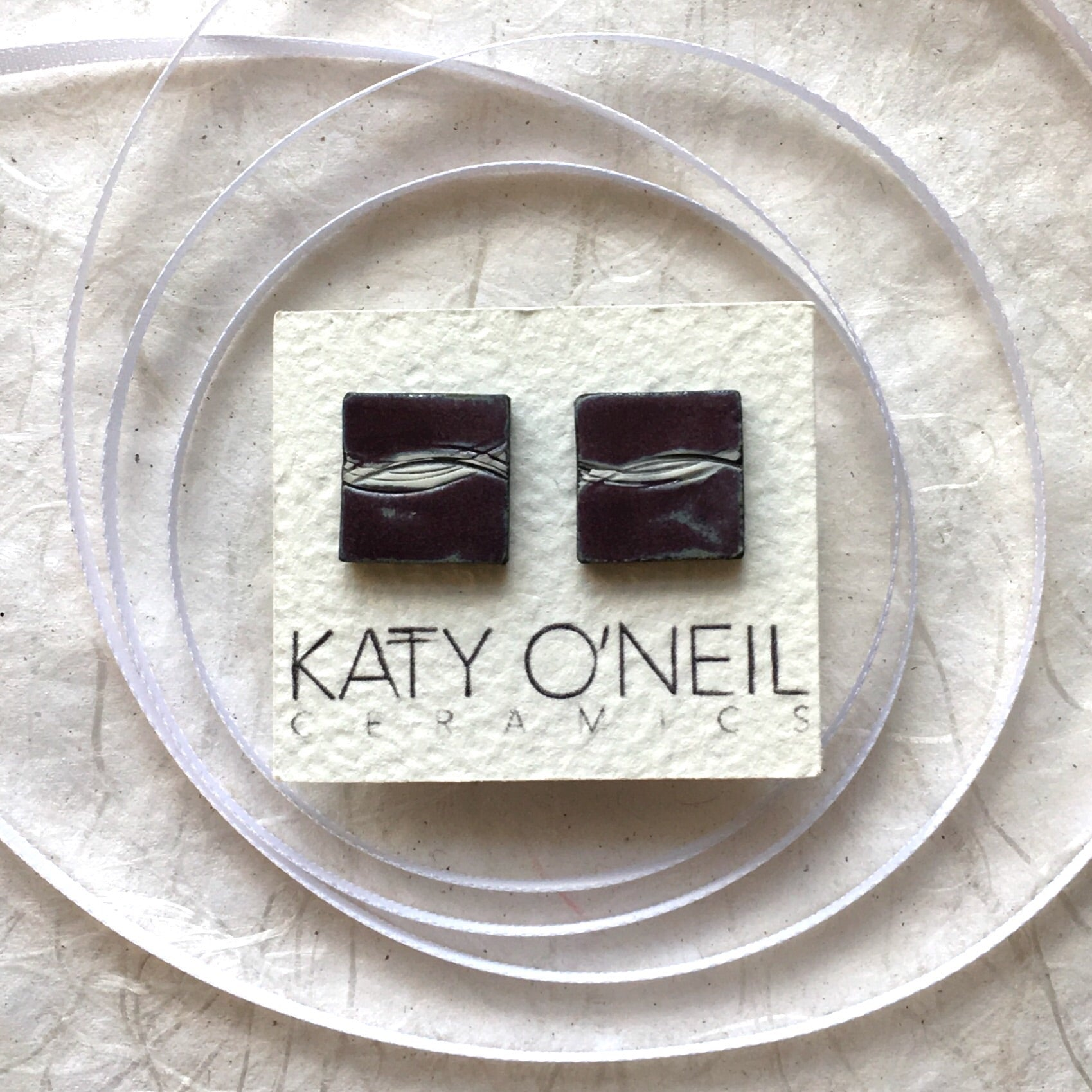 Large Square Earrings 6