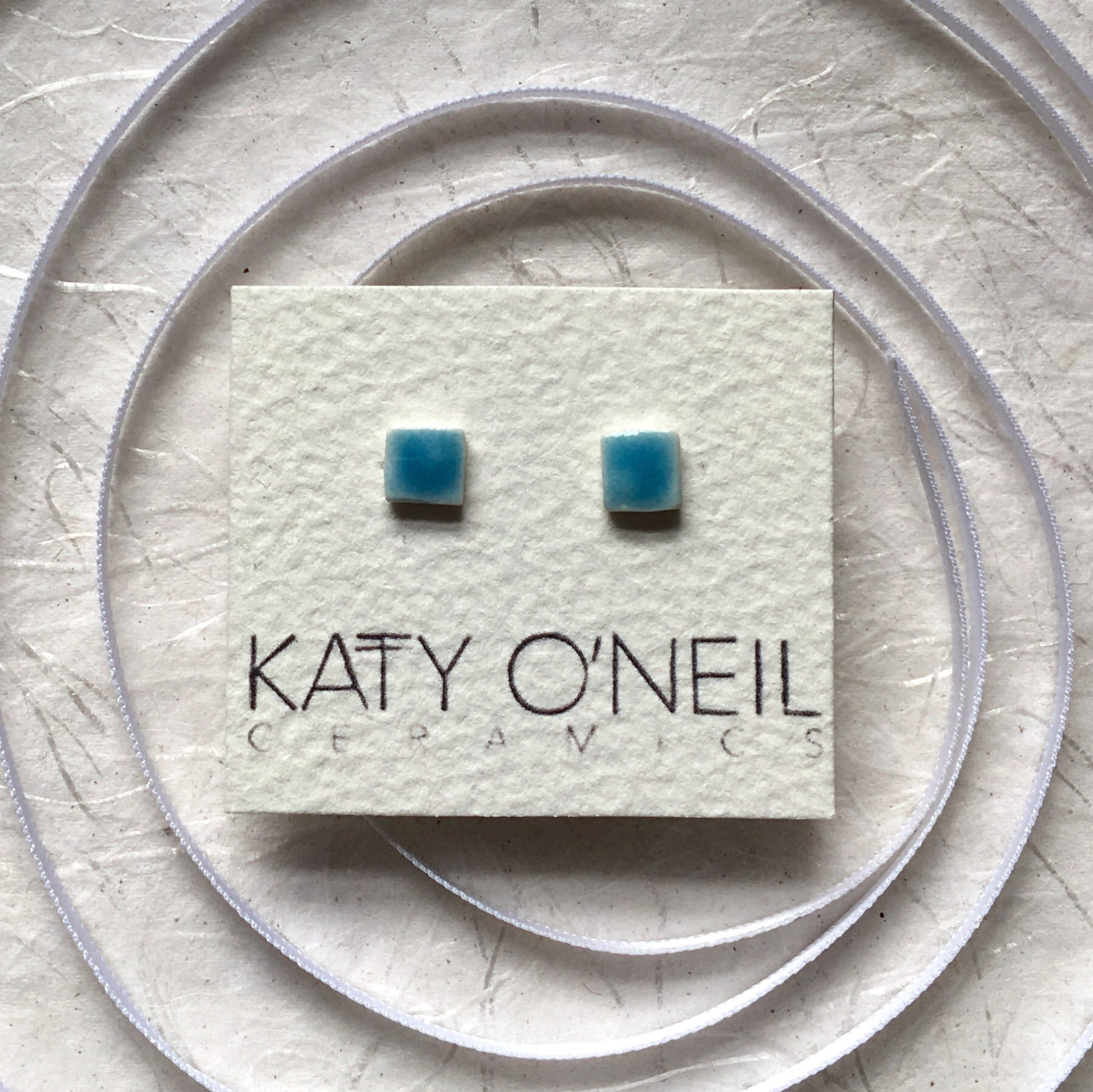 Tiny Square Earrings 39