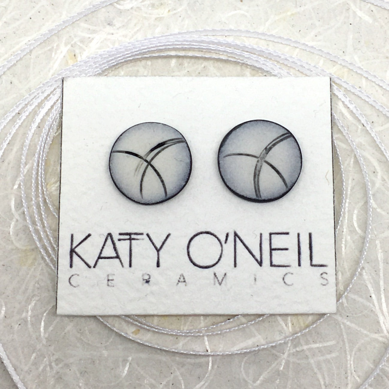 Large Round Earrings 15
