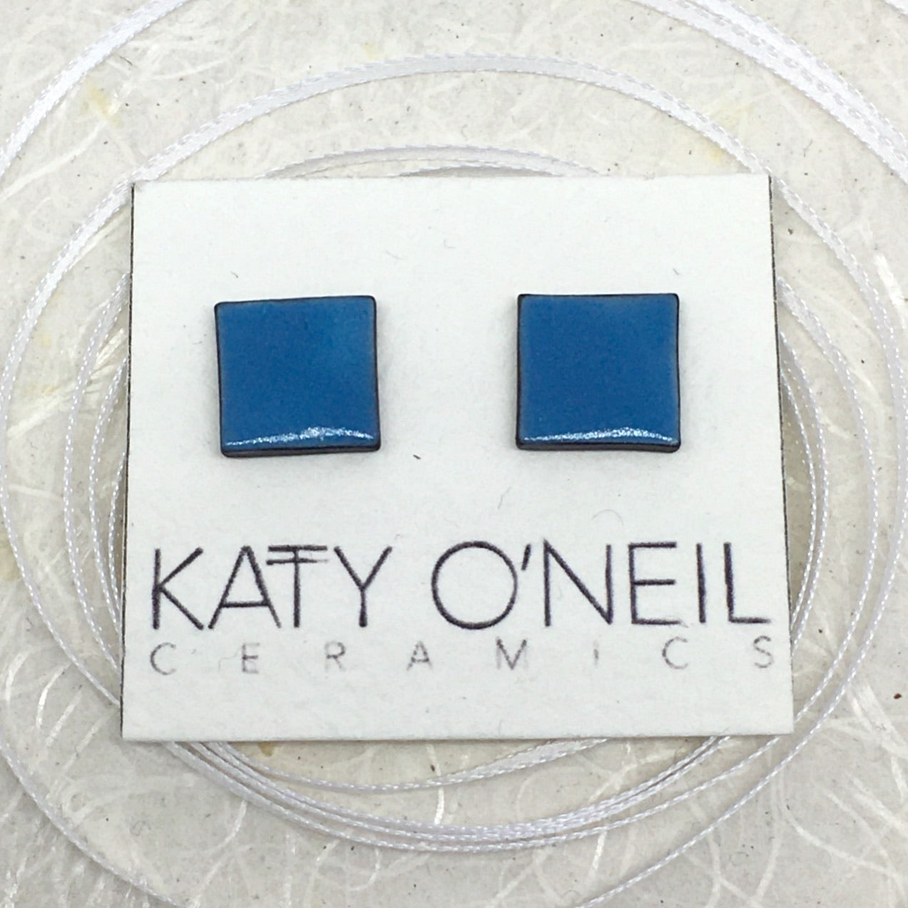Medium Square Earrings 13