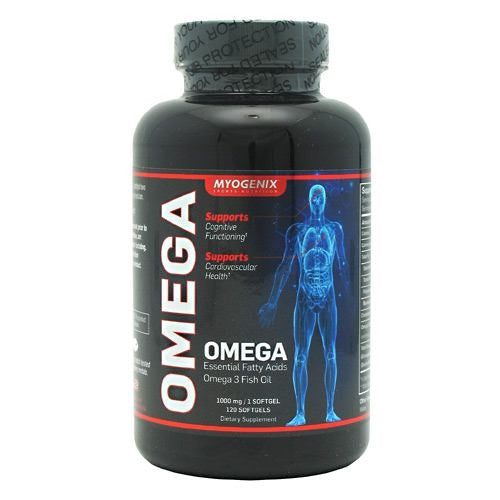 Myogenix Omega - 120 Softgels - 680269031207