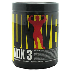 Universal Nutrition NOX 3 - 180 Tablets - 039442051929