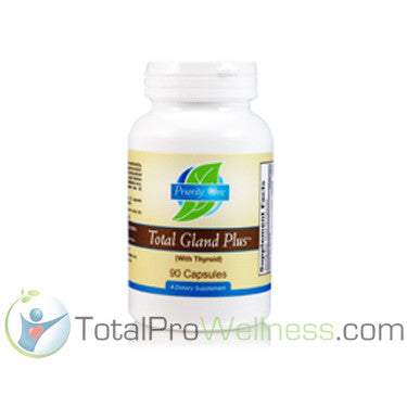 Total Gland Plus with Thyroid 90 Capsules