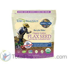 RAW Organics - Organic Flax Meal with fruits & berries, 12 oz