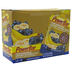 Powerbar Energy Blends - Banana Blueberry - 6 ea - 097421451993