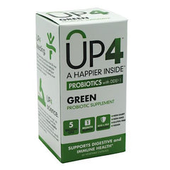 UAS Life Sciences UP4 Green Probiotics - 60 Capsules - 725334011651