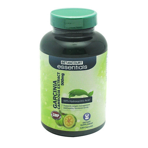 Betancourt Nutrition Garcinia Cambogia Extract 500 mg - 120 Capsules - 120 Servings - 857487004621
