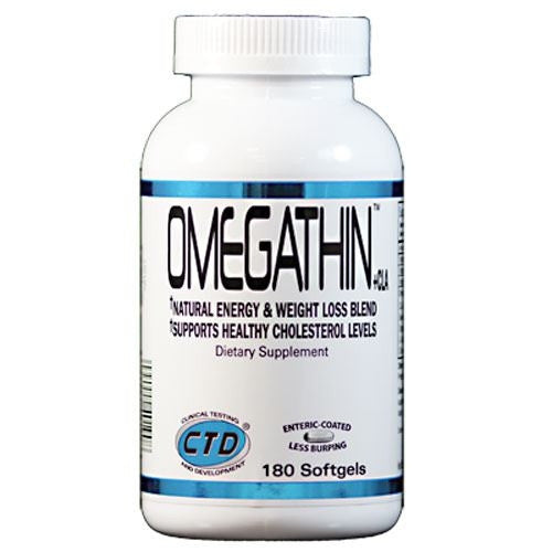 CTD Omegathin - 180 Softgels - 094922401908