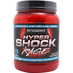 Myogenix HyperShock Rage - Blue Raspberry - 40 Servings - 680269382491