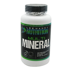 Lee Haney Nutrition Multi Mineral Caps - 120 Tablets - 30 Servings - 092617102413