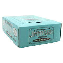 JimmyBar! Clean Snack Bar - Super Hip Chocolate Chip - 12 Bars - 855065004070