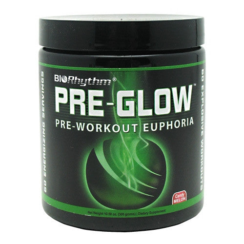BioRhythm Pre-Glow - Candy Melon - 60 Servings - 854242002106